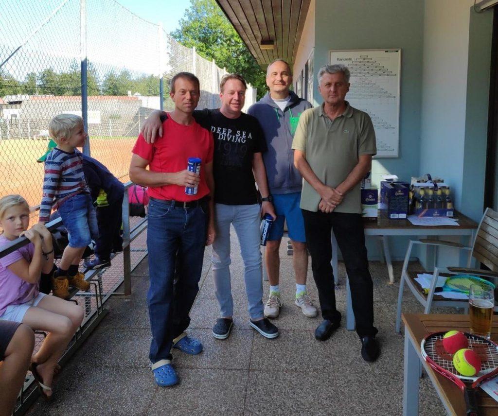 Sieger des Herren Doppel-Trost Bewerbes: Daniel Fischer und Ingo Sternig