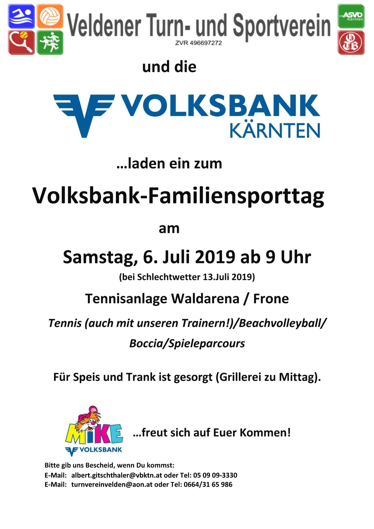 VB-Familiensporttag