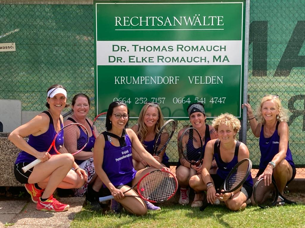 von links: Elke Romauch, Doris Goißer, Monika Forstner, Sabine Wallenböck, Ines Krajnik-Frank, Sylvia Krajnik, Renate Pein